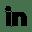 black-linkedin-icon